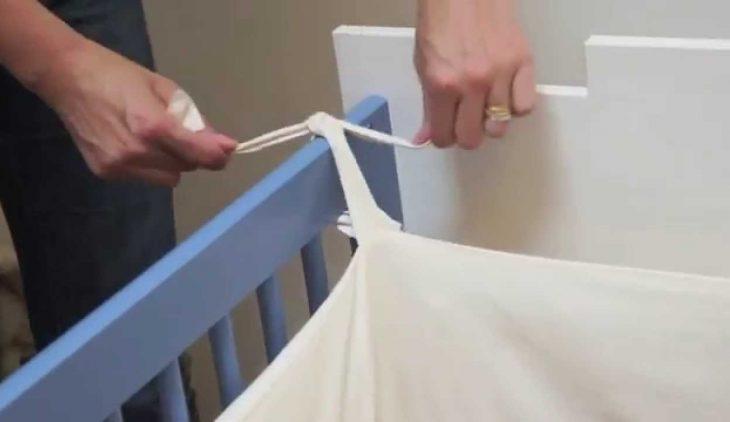 Comment faire tenir le tour de lit de bébé
